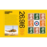 4117.8p Set of 3 Machin definitives M1..