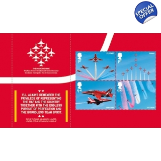 4067-70 Red Arrows stam..