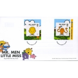 3901-2 Mr Men FDC: stamps from retail ..