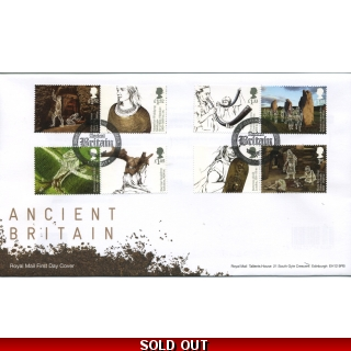 3912 Ancient Britain Local Handstamp F..