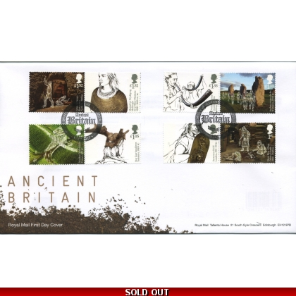 3912 Ancient Britain Local Handstamp FDC - very scarce