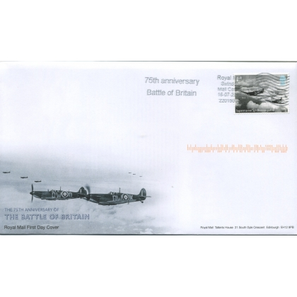 3735 Battle of Britain slogan postmark first day cover.