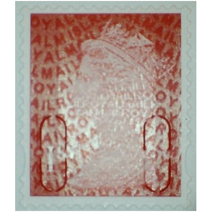 2914a.8 1st deep scarlet M18L MAIL 2018 Walsall yellow phosphor.