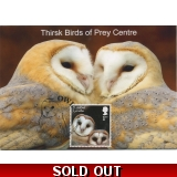 4085x9 Barn Owl juvenile maximum card ..