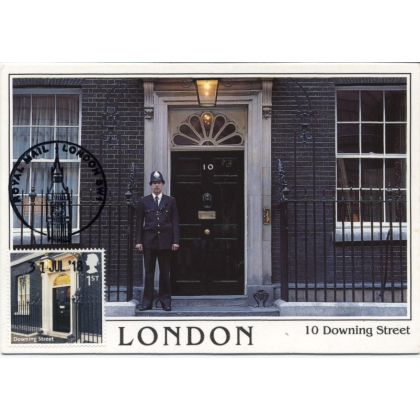 3233 Downing Street, London, maximum card