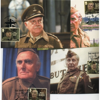4099 Dad's Army Maximum Cards set of 8 complete