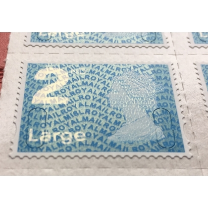 2913.8 2nd Large M18L MAIL 2018 Walsall blue phosphor.