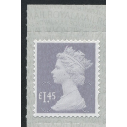 3145.8b £1.45 dove-grey & iridescent with yellow fluorescent ink M18L Walsall blue phosphor
