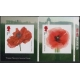 4139-40 Poppy self-adhesive stamps..