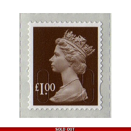 3101.2 £1 wood brown MAIL M12L 2013 issue