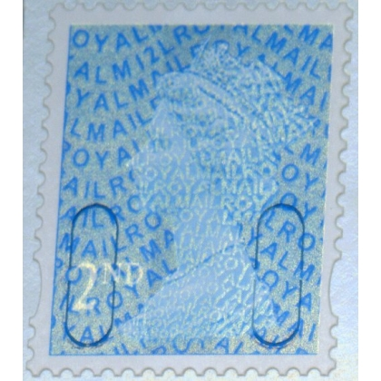 2911.2 2nd blue M12L MAIL from counter sheet 2012