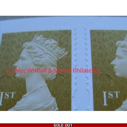 2932.0 1st gold MTIL MA10 ex retail booklet 2010