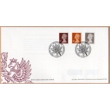 20110505 Wm Morris PSB Machins FDC 5p,..