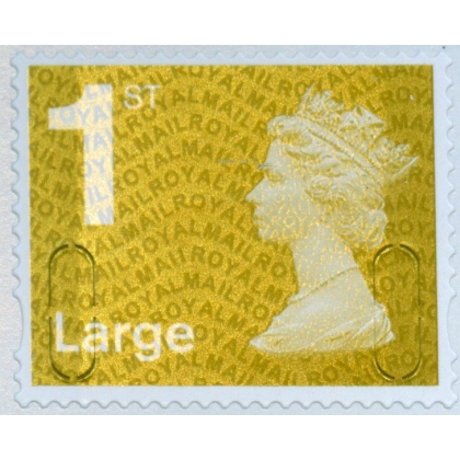 2935.1 1st Large gold MFIL MA11 from retail book 2011