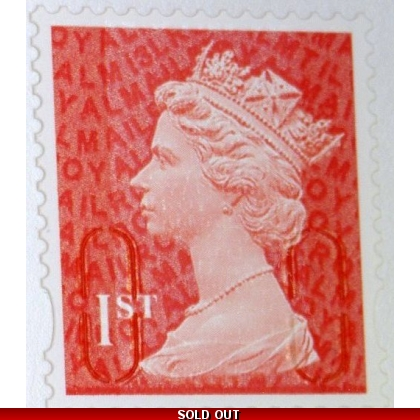 2936.3 1st red M13L MTIL from booklets of 12 2013