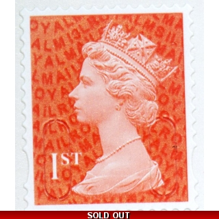 2936S.3 1st red MSIL M13L from booklet..