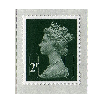 3002.2 2p green  MAIL M12L 2013 issue