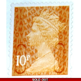 3010.3 10p orange MAIL MA13 2013 issue