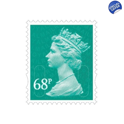 3068 68p blue-green MAIL M11L definitive 2011