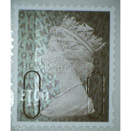3101.4 £1 wood brown MAIL M14L 2014 issue
