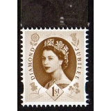 3329 1st brown Wilding Diamond Jubilee..