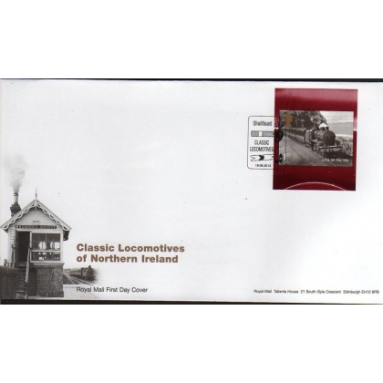 3497 N Ireland Locomotives booklet FDC 18.06.2013