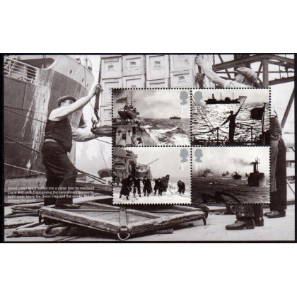 3525 Arctic Convoys booklet pane
