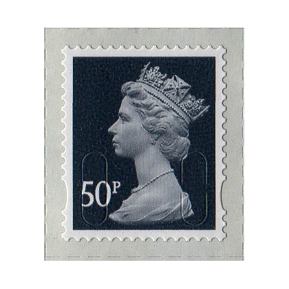 3051.2 50p slate-grey MAIL M12L 2013 issue