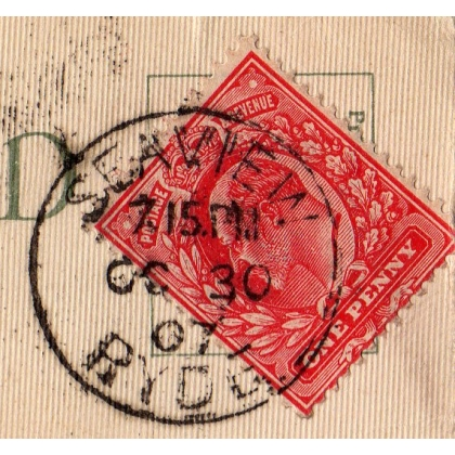 Seaview Ryde postmark, single circle
