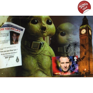Dr Who Maximum card Christopher Eccles..