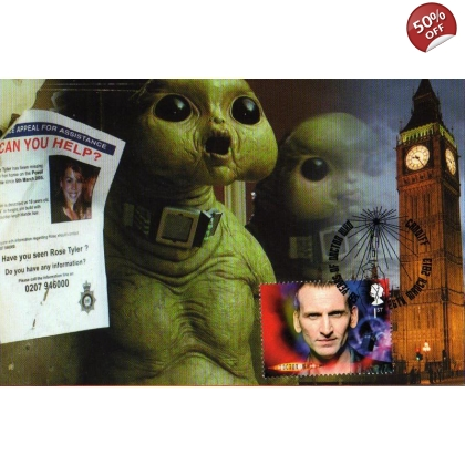 Dr Who Maximum card Christopher Eccleston