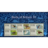 FS04b Birds 3 Faststamps Bureau Pack 6..
