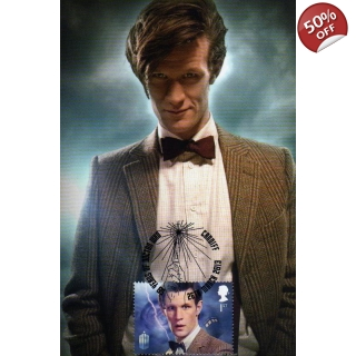 Dr Who Maximum card Matt Smith Bow Tie