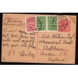 Austria: 1923 200h card uprated sent L..
