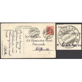 Switzerland 1908 Ambulant 40 TPO postm..