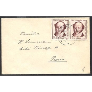 Switzerland 1954 Pro Juventute small c..
