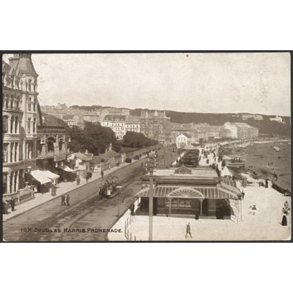 Douglas Isle of Man Harris Promenade, 1905 postcard