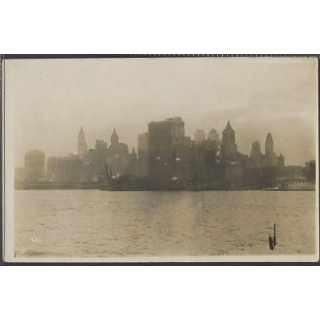 USA New York real photographic postcard