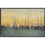 Atlantic City NJ USA postcard Yachts a..