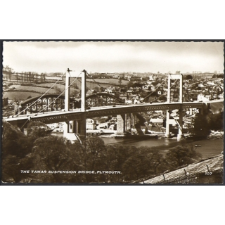 Tamar Suspension Bridge, Plymouth real..