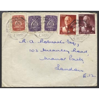 Portugal 1948 cover to ..