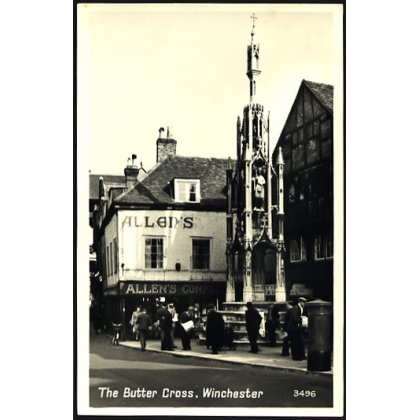The Butter Cross, Winchester real photographic card