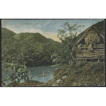 Jamaica: Rio Cobre River undivided back postcard