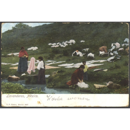 Lavanderas, Mexico - washer women