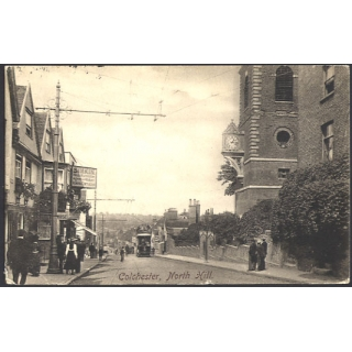 Colchester, North Hill, Essex 1908