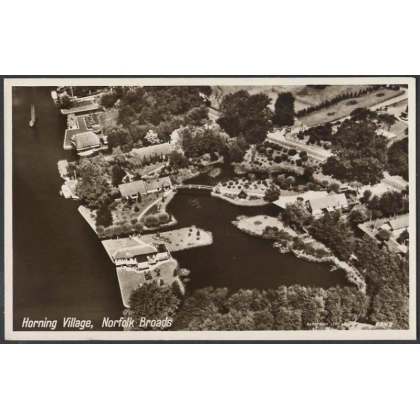 Norfolk Broads - Horning Village, aerial photo