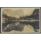 USA 1930 RP card Mirror Lake Yosemite