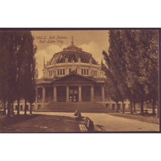 Salt Palace, Salt Lake City postcard