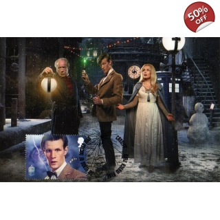 Dr Who Maximum card Matt Smith Smiler ..
