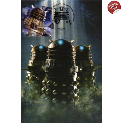 Dr Who Maximum card - Dalek 7